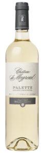 vin blanc palette